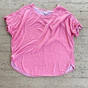 Avenue Pink 18/20 2X sweatshirt short sleeve shirt
